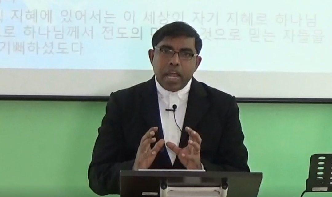 온누리M센터 2018년 3월 25일 스리랑카 주일 예배 설교